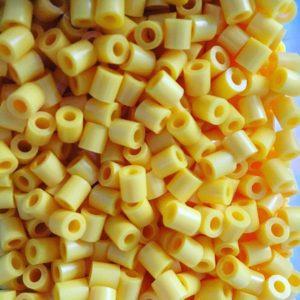 yellow-hama-beads