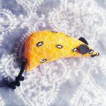 halloween themed catnip mouse