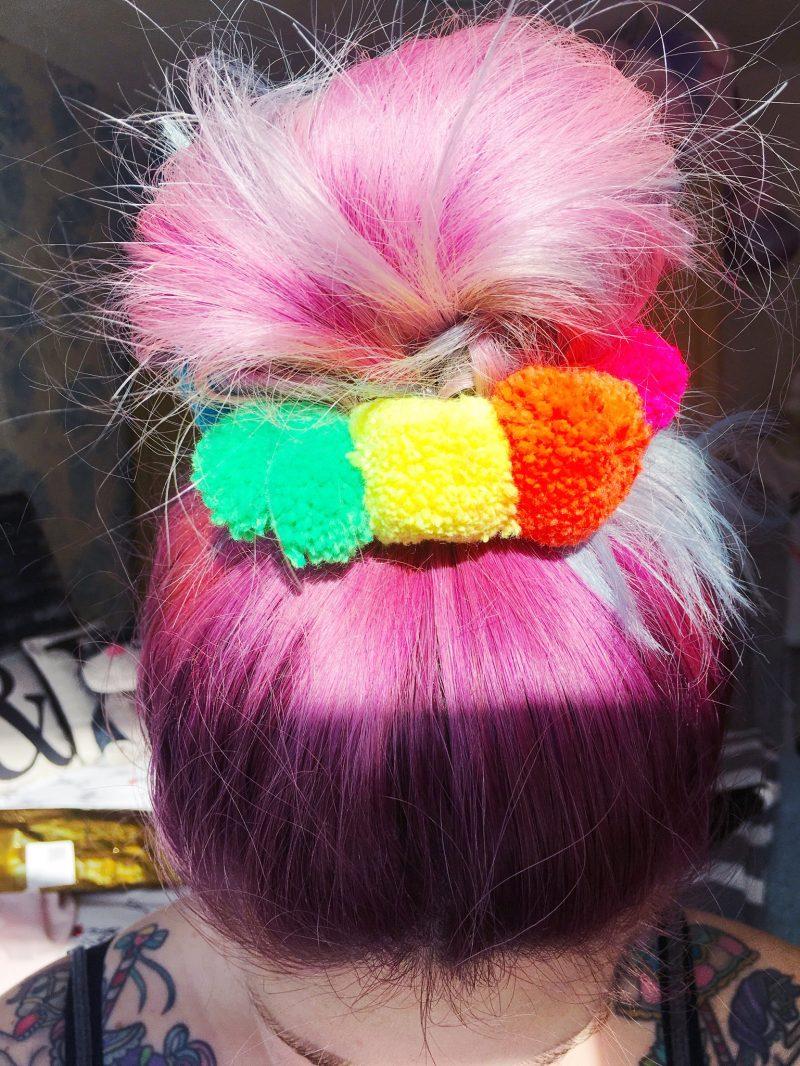 neon-pompom-scrunchies
