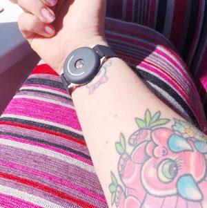 doppel-on-wrist