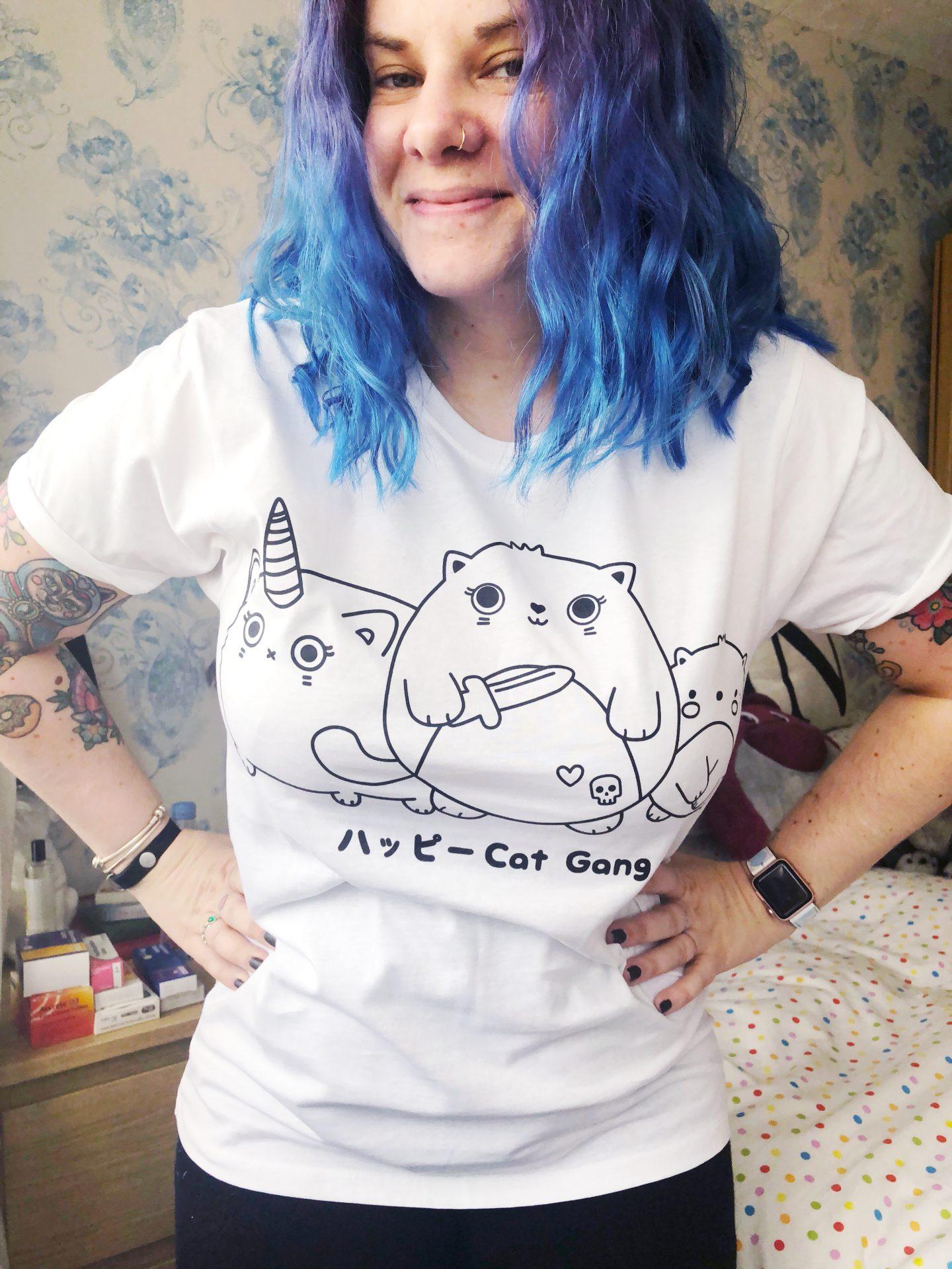sugar-and-sloth-cat-gang-tee