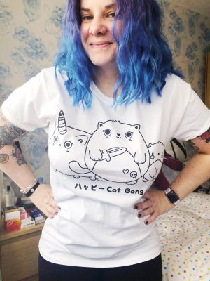 sugar-and-sloth-cat-gang-tee