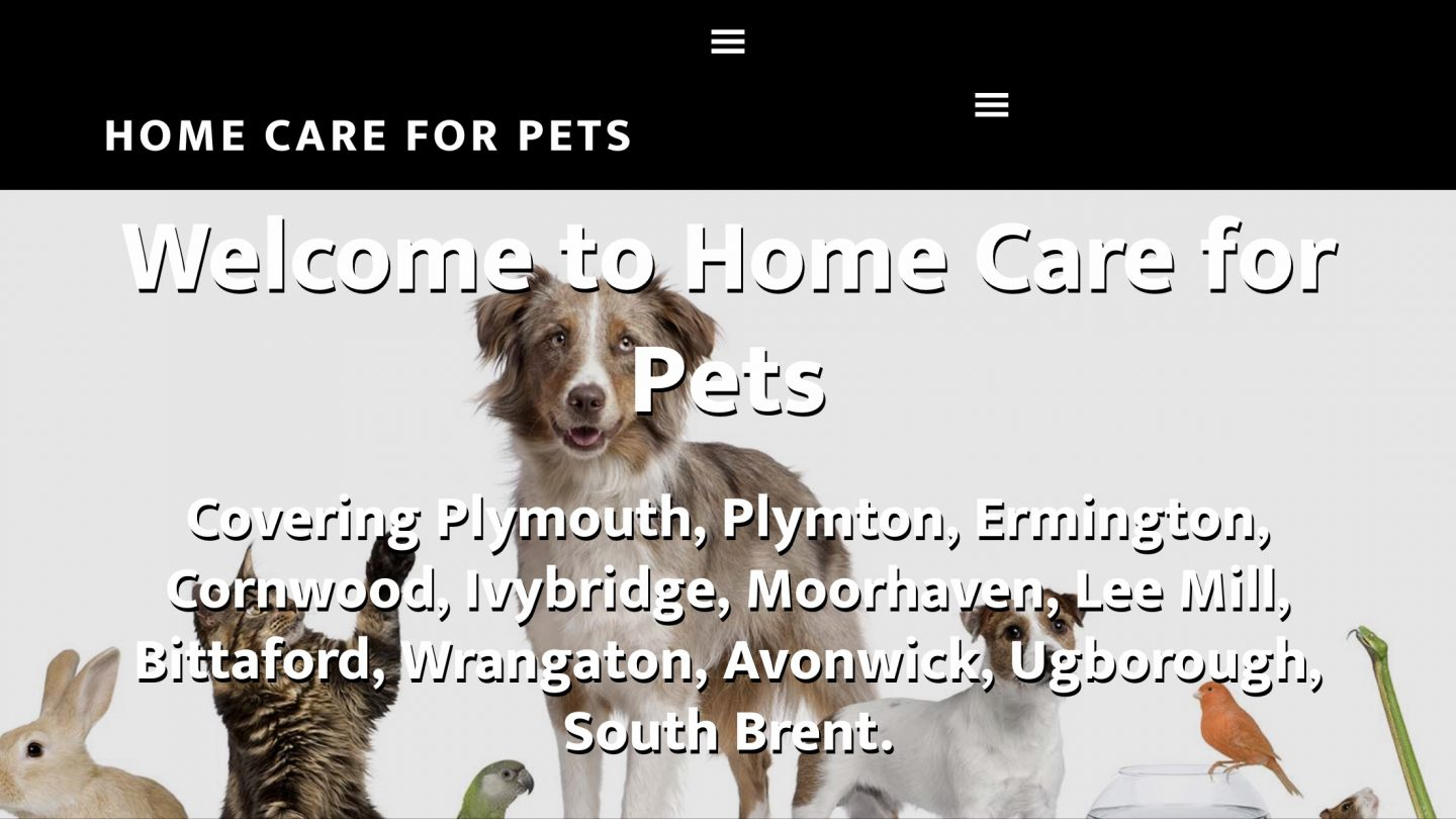 home-care-for-pets-website-screenshot