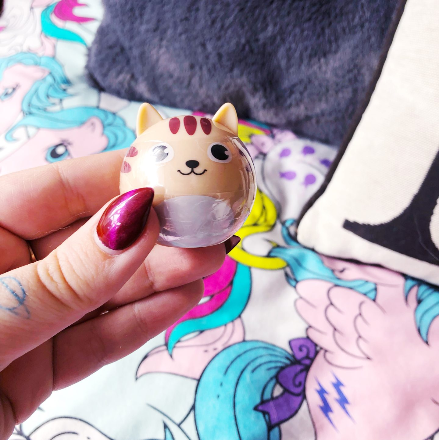 cat shaped lip balm