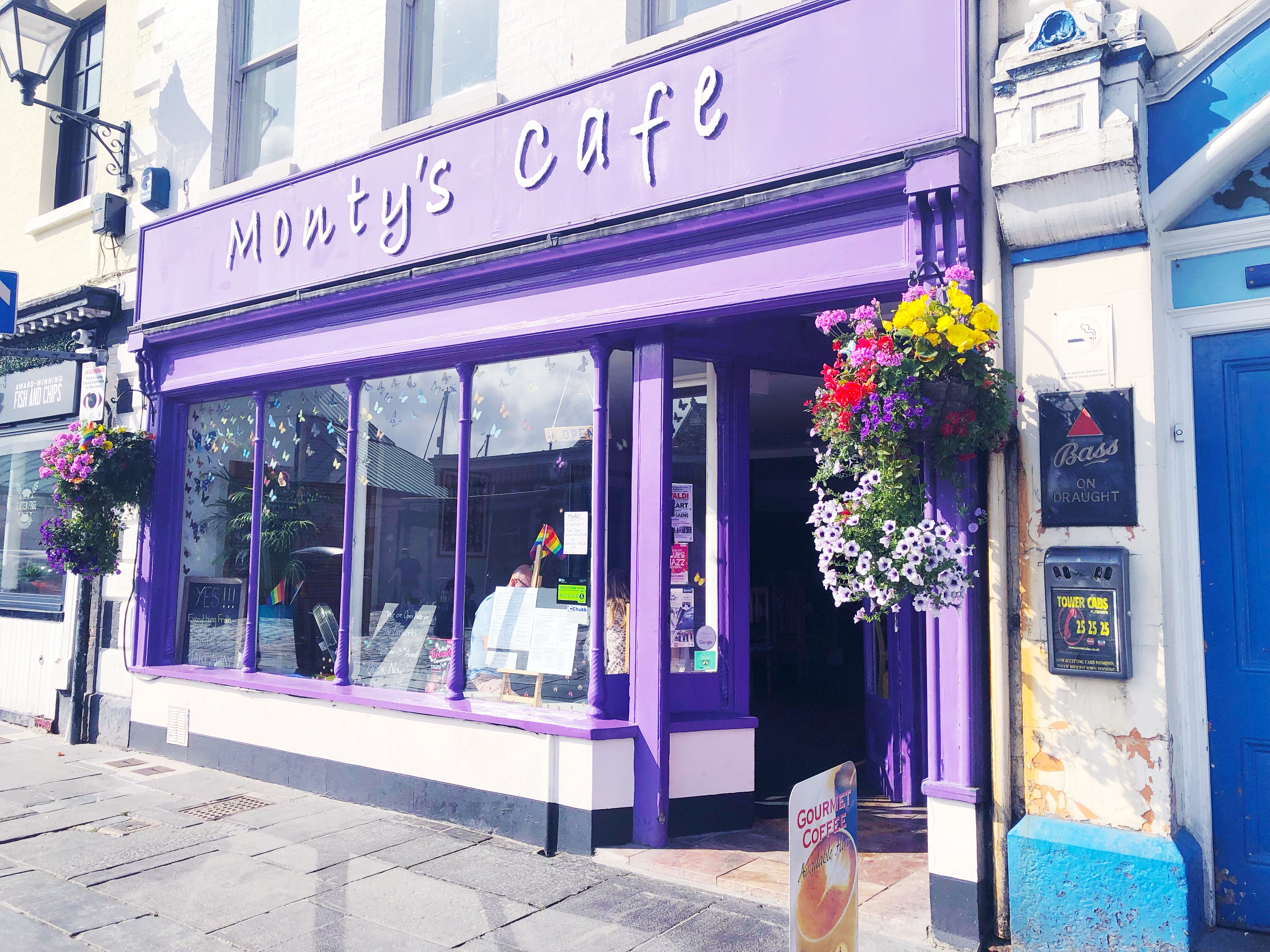 Gluten Free Breakfast at Monty's Cafe, Plymouth