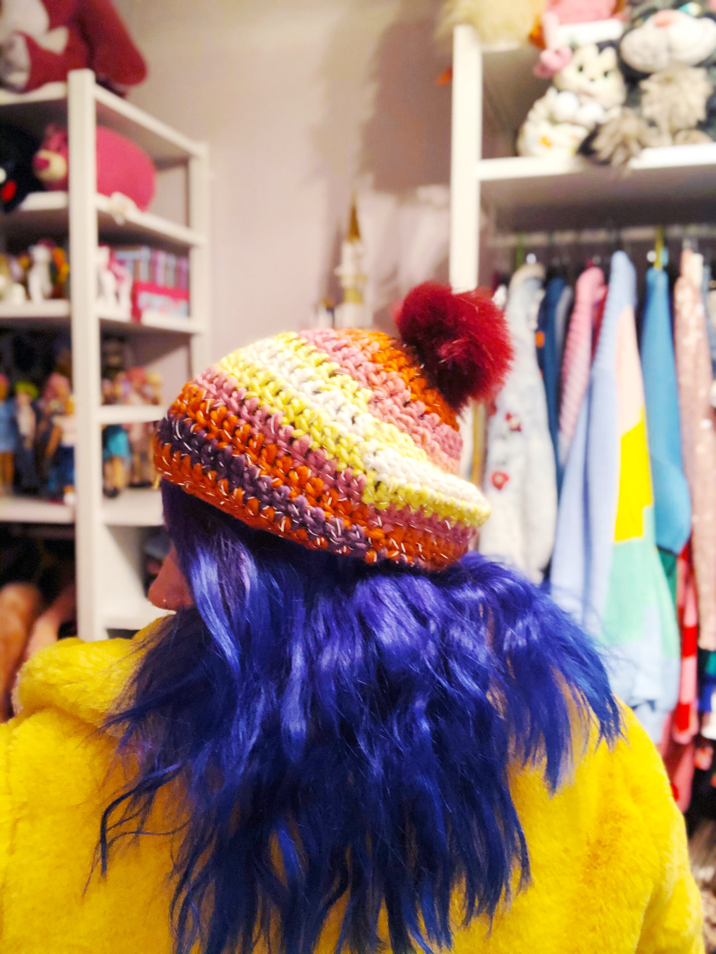 A Perfect Bobble Hat from Practically Perfect UK.